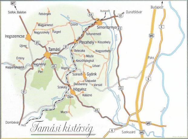 hőgyész térkép Tamasiportal.hu
